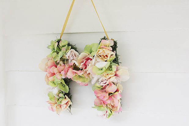 DIY decoration m floral rendu final