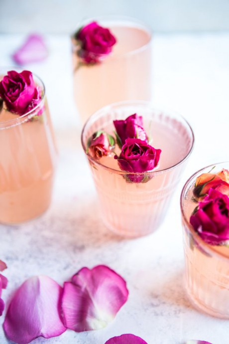 rose citron cocktail