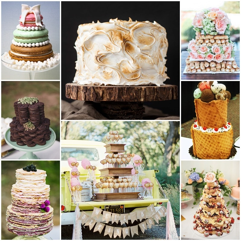 alternatives wedding cakes
