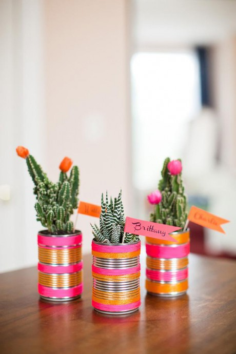 cadeaux invites mariage recuperation decoration