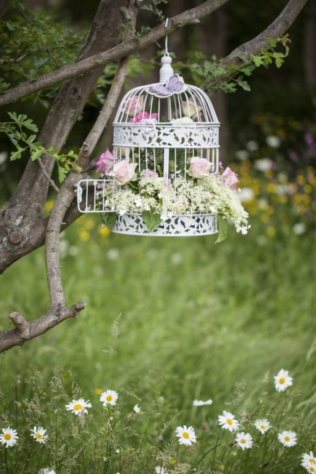 decoration mariage cage