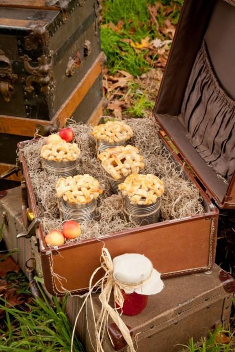mariage-boîtes de conserve-tarte