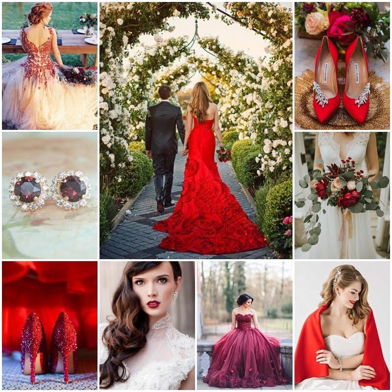 la mariee en rouge