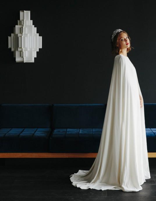 maison floret chuck 2017 robe de mariee cape