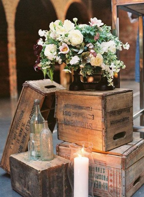 mariage campagne chic decoration