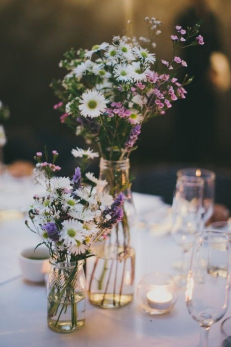 mariage campagne chic decoration fleurs