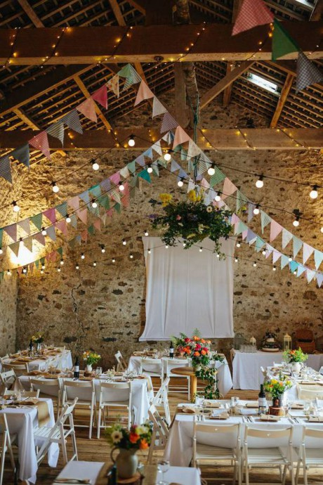 mariage campagne chic salle reception