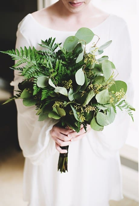 mariage greenery bouquet de mariee