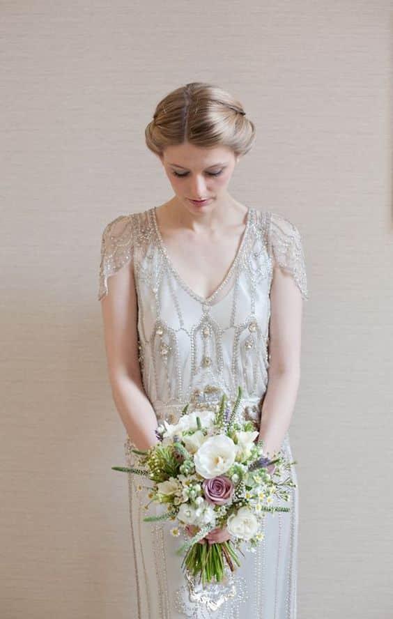 mariage jardin anglais look femme