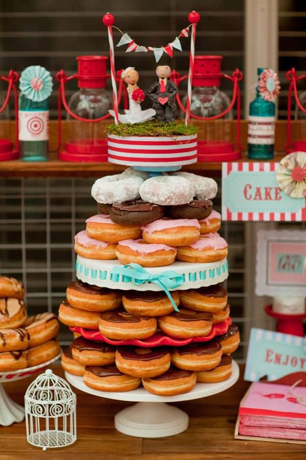 piece montee de donuts