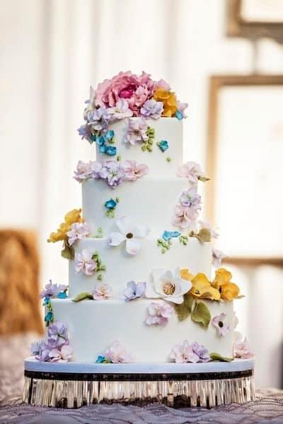 10 Wedding Cakes Qui Se Marient Avec Les Couleurs Du Printemps