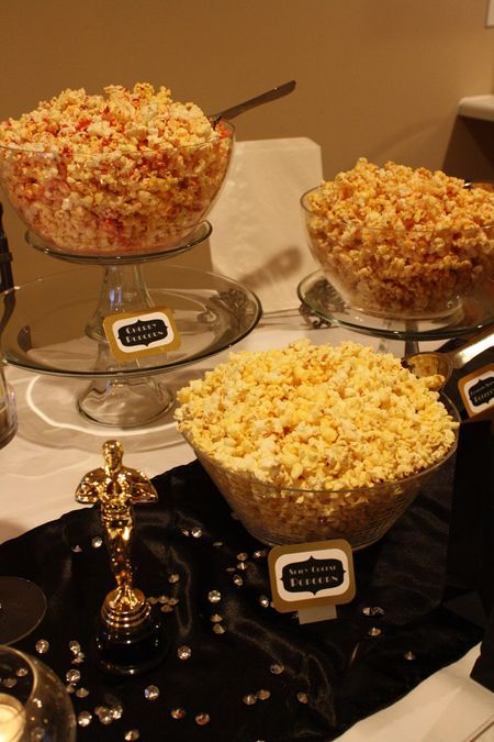 animation mariage hollywood bar a pop corn