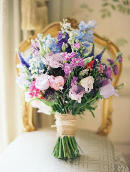 bouquet de mariee paques