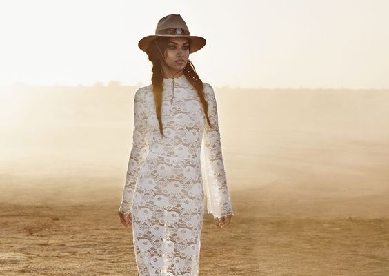 chapeau country look mariee