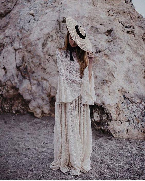 chapeau de mariée-mariage-paille