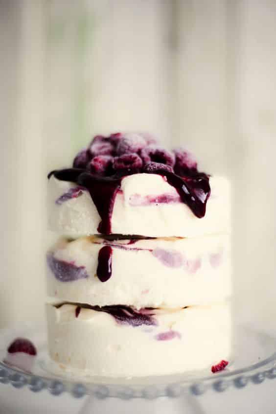 desserts glacés-mariage-crème