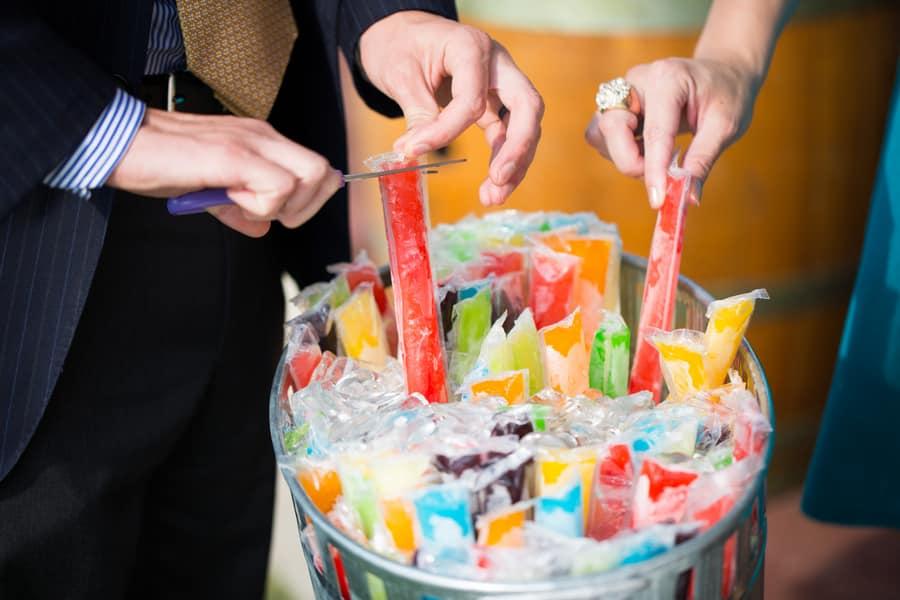 desserts glacés-mariage-eau