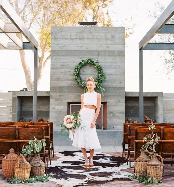 panier en osier decoration mariage