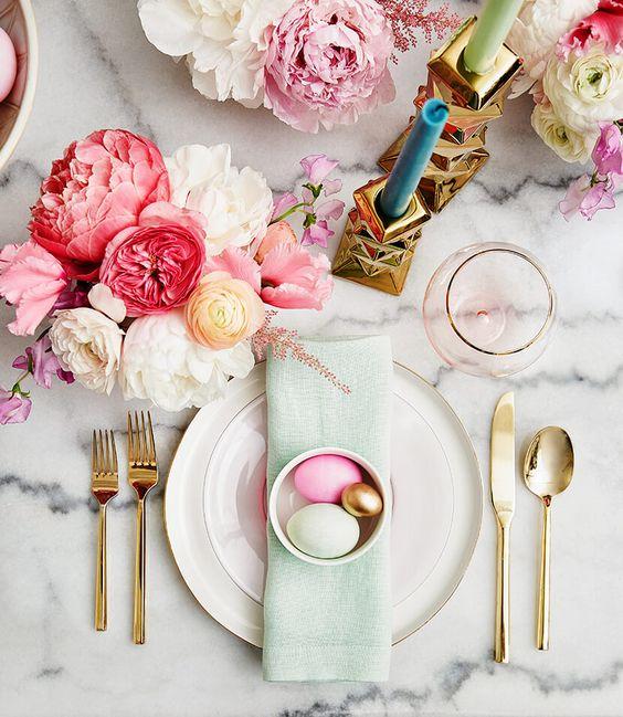 paques table de mariage