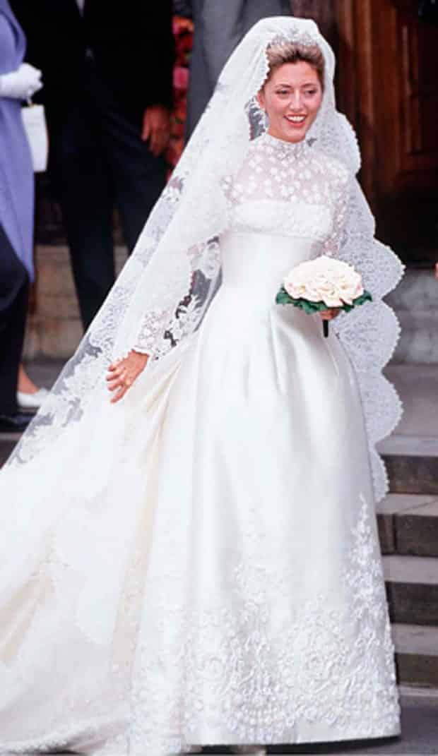 robe de mariee princesse marie chantal