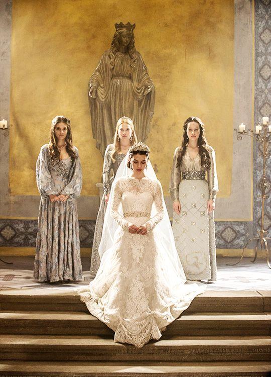 robe de mariee serie reign