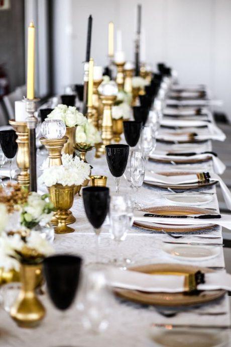 table de mariage hollywood