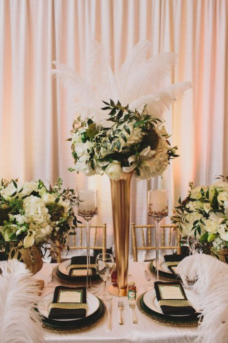 thème-hollywoodien-mariage-déco-table