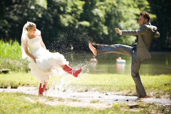 mauvaise météo-mariage