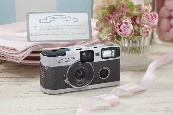 Appareil photo jetable cadeaux invités mariage