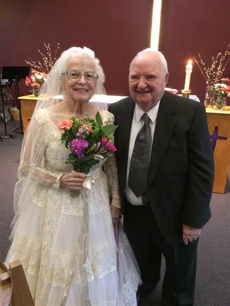 Carol Bates mariage