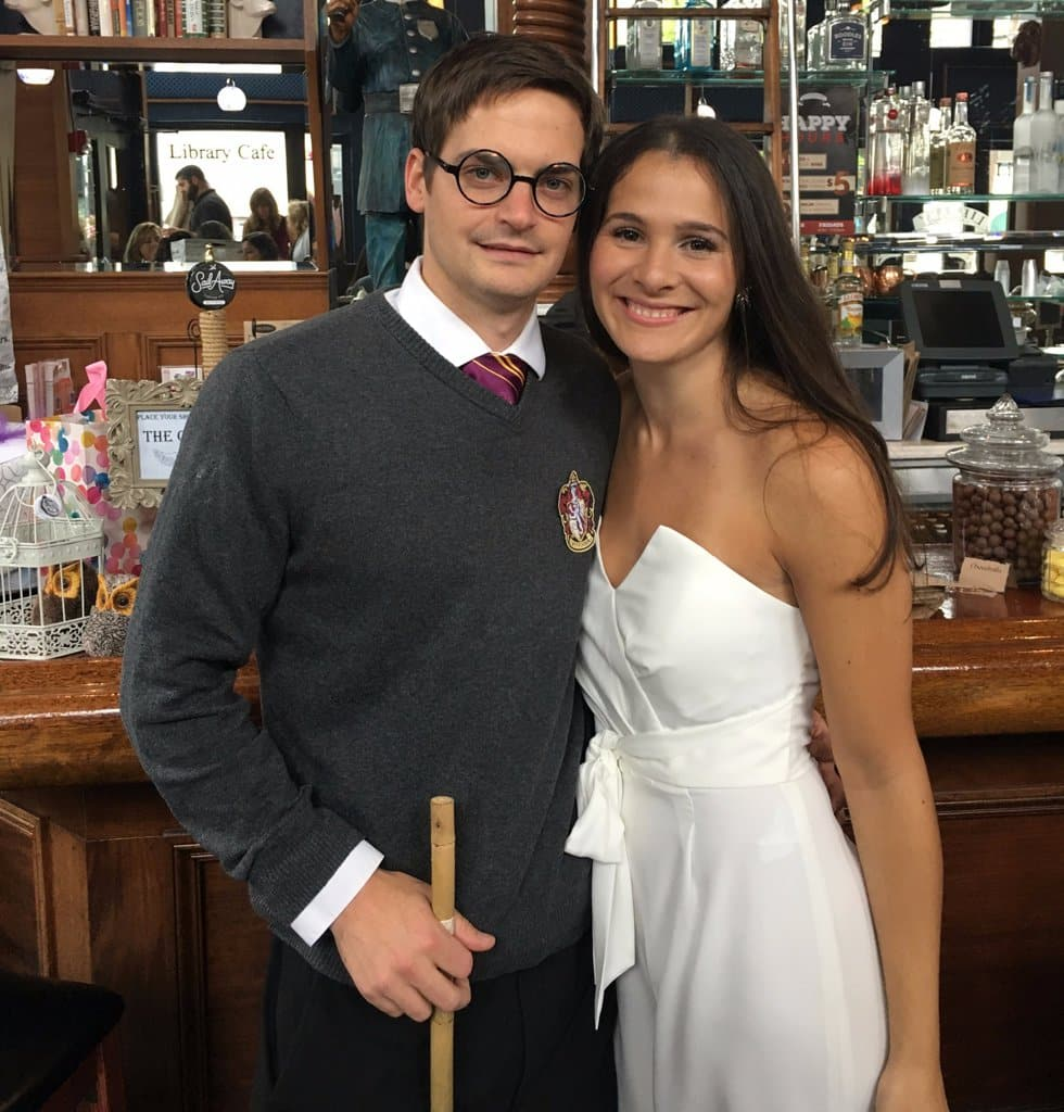 Harry Potter Theme Bridal Shower couple