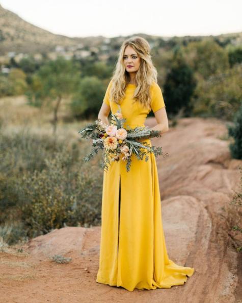 Super jaune belle wedding robe discount code for 07b73 274a8 TI-75