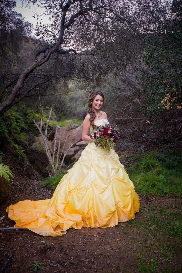 10 robes de mariée pour les fans de La Belle et la Bête ! , Mariage.com