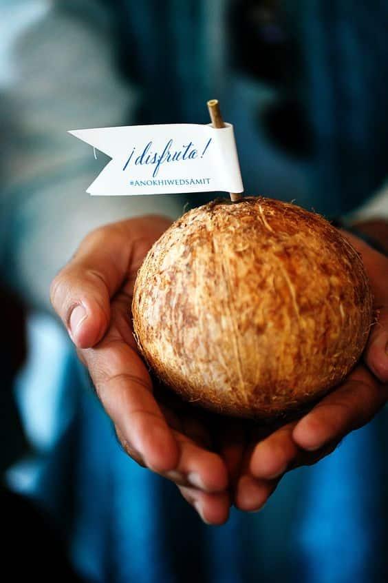 cadeau de noix de coco
