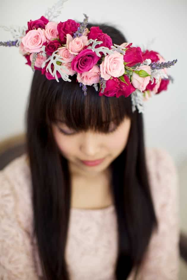 couronne de fleurs 3