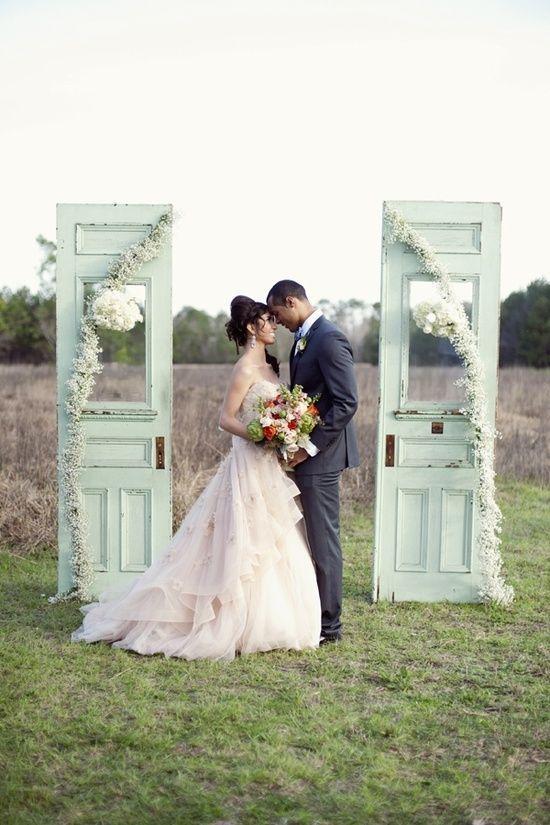 decoration mariage menthe a l eau
