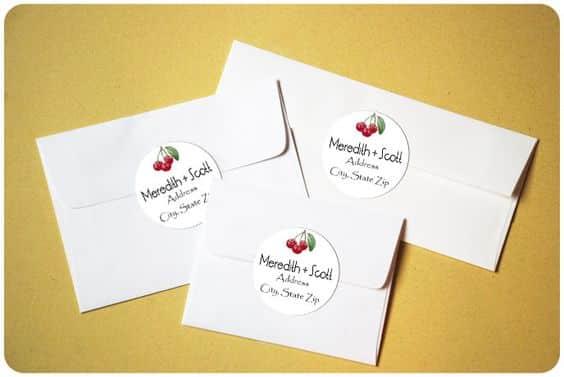 enveloppe invitation mariage