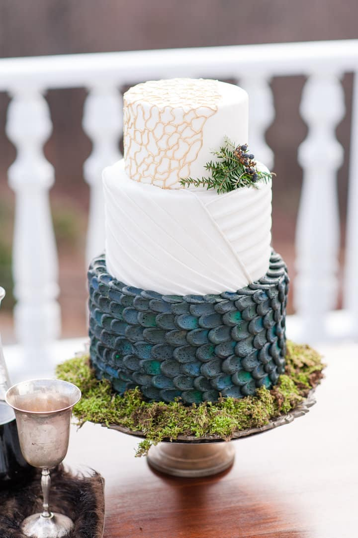 gateau mariage game of throne