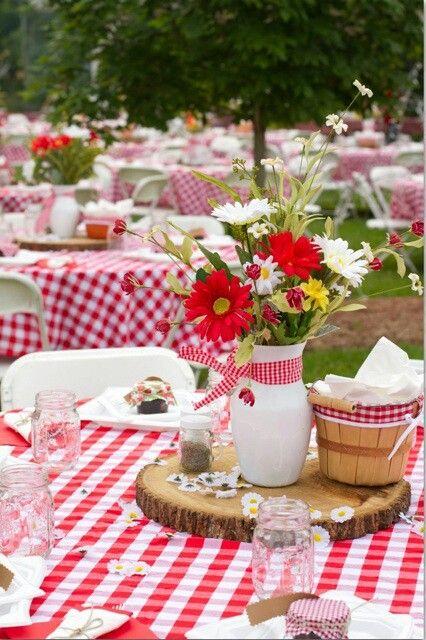 guingette table reception