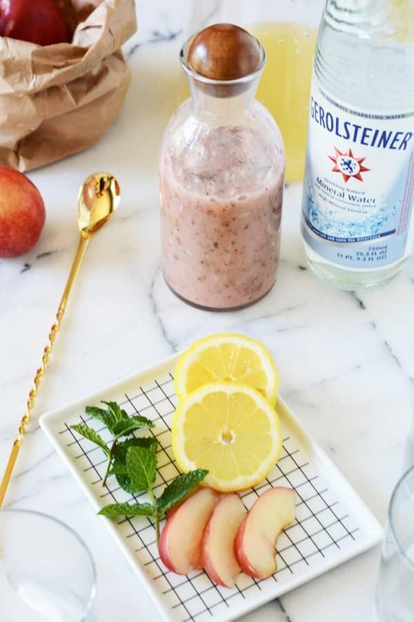 ingrédients limonade