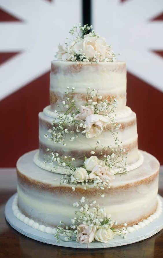 le wedding cake bucolique