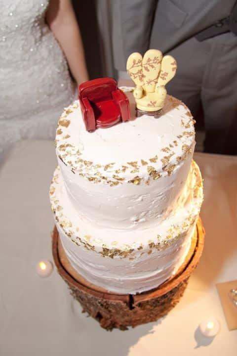 mariage theme disney pièce montée