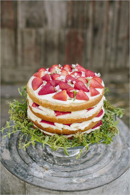 piece montee creme et fraise