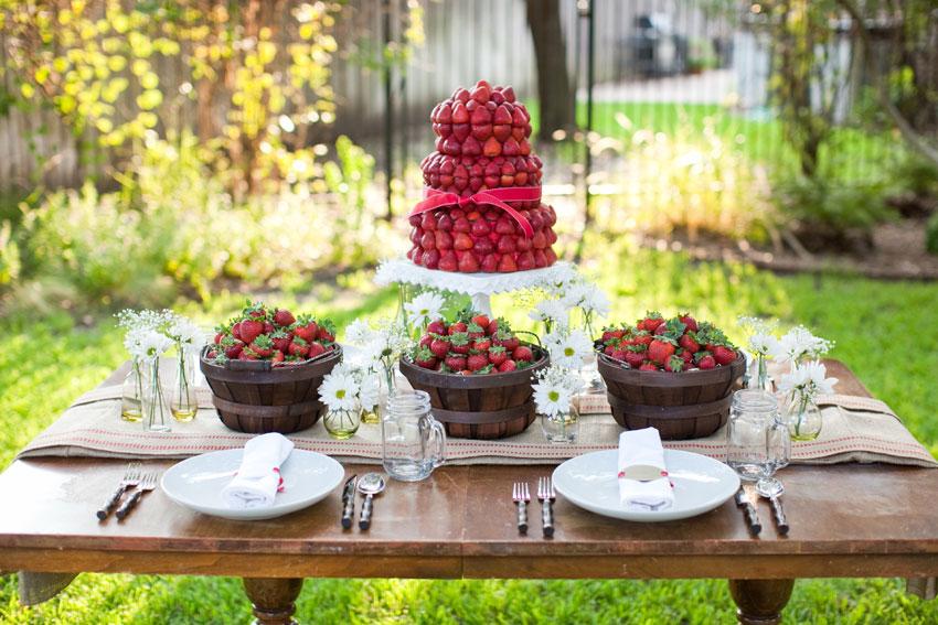 piece montee de fraises