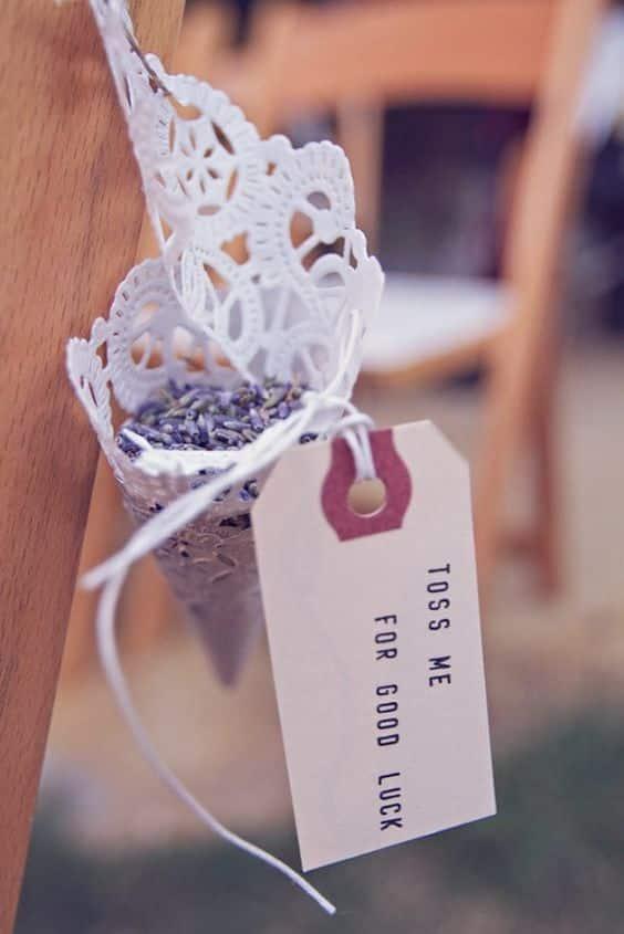 pot pourri lavande cadeau mariee
