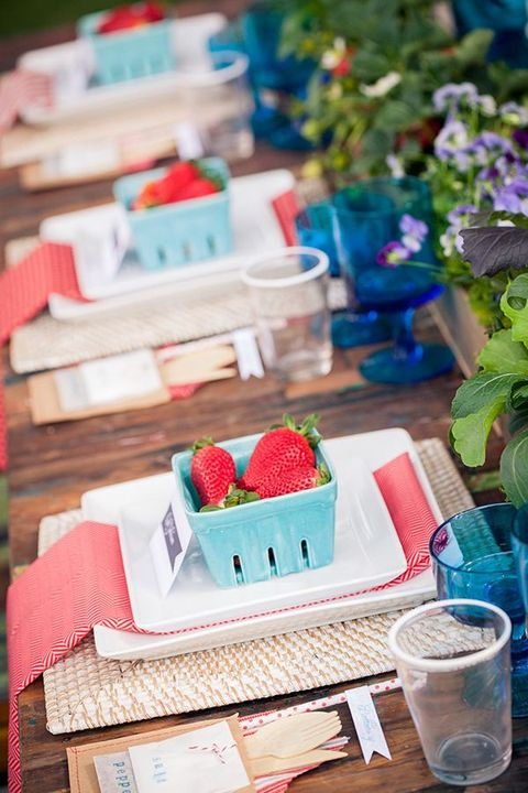 table de fraise