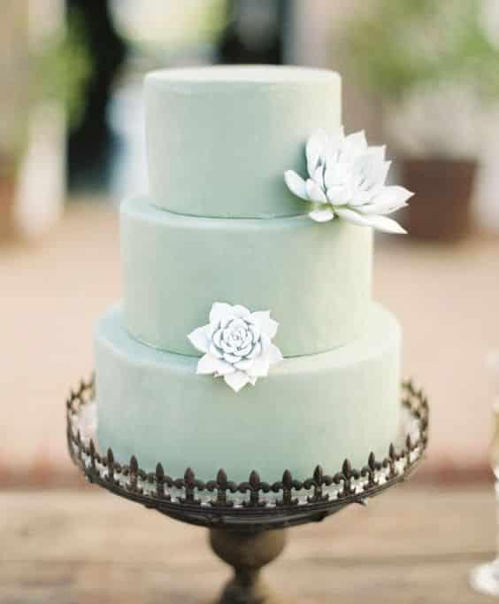 wedding cake menthe a l eau