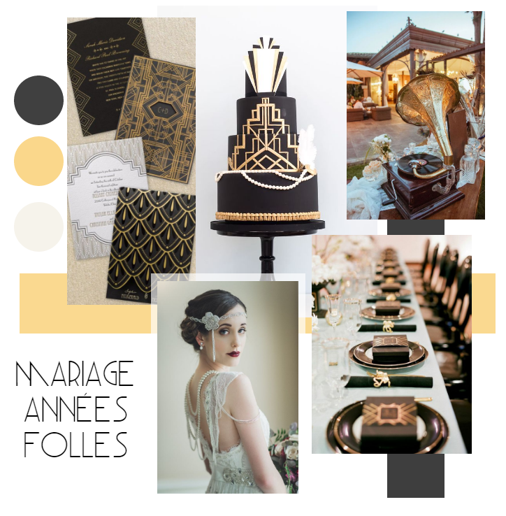 Moodboard années 20