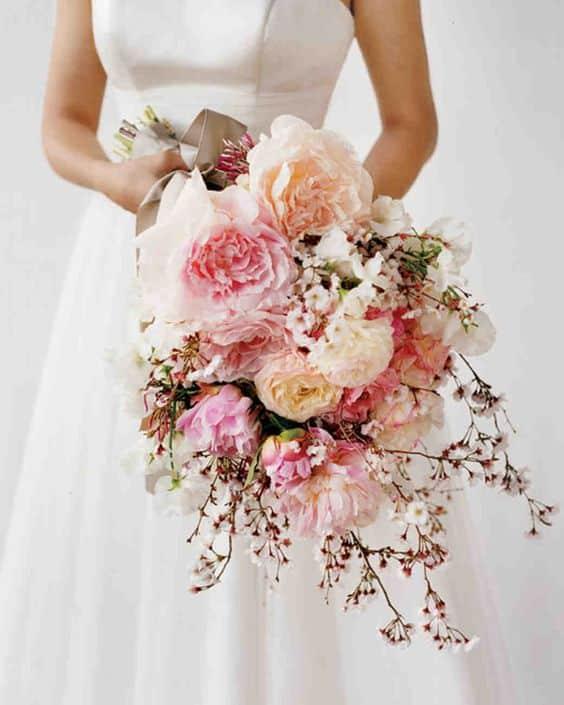 bouquet mariee fleur de cerisier