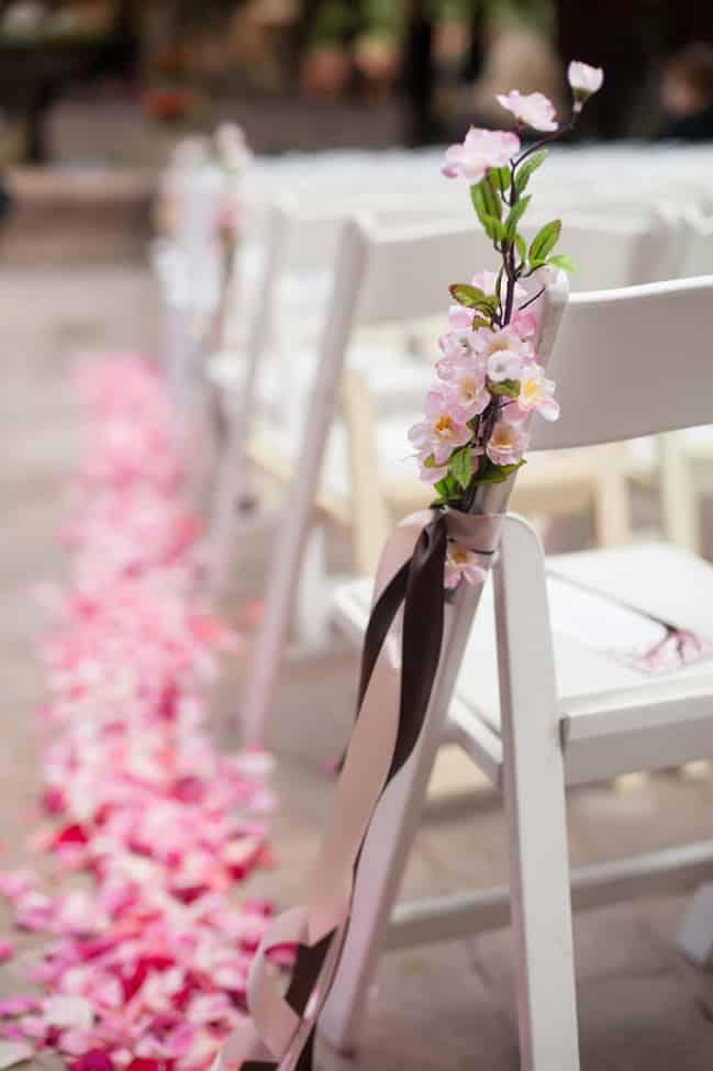 chaise fleur de cerisier